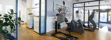 Trainingstherapie Oberkörper Ergometer